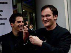 Eli Roth and Quentin Tarantino