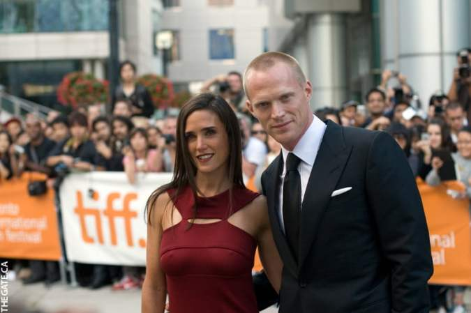 Jennifer Connelly and Paul Bettany on the red carpet for Creation