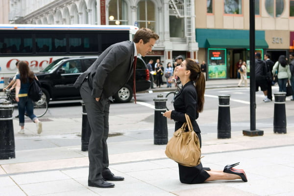 Ryan Reynolds and Sandra Bullock in 'The Proposal'