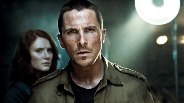 Christian Bale in 'Terminator Salvation'
