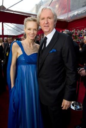Suzy Amis and James Cameron