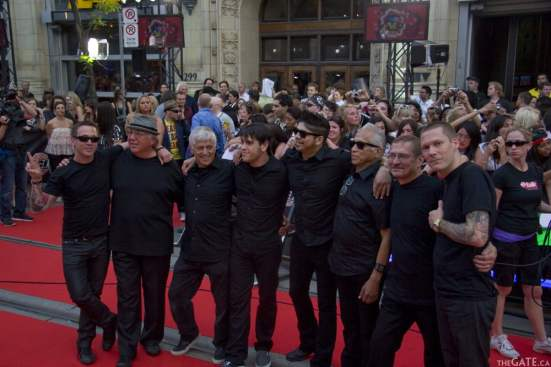 Billy Talent with their fathers