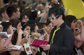 Josh Ramsay of Marianas Trench