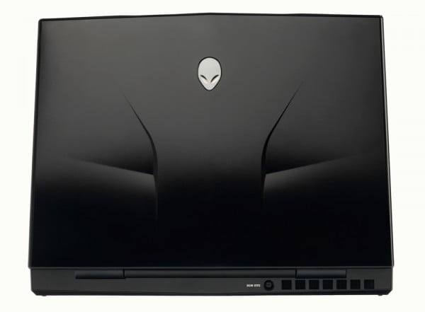 Alienware's M11x - back view