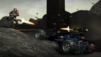 Crackdown 2 vehicle battle