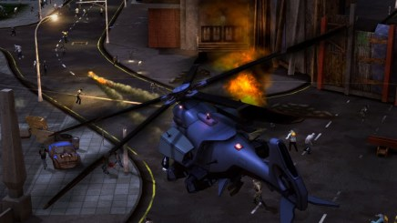 Crackdown 2 helicopter