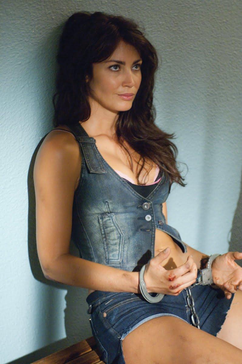 Tanit Phoenix in cuffs
