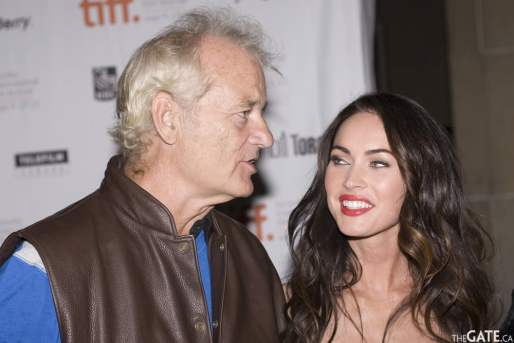 Bill Murray and Megan Fox