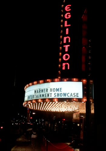 Warner Bros. Home Entertainment at the Eglinton Grand