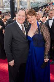 John Lasseter and wife Nancy