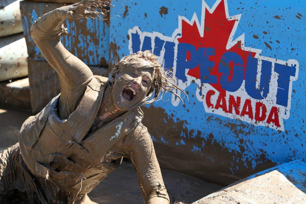 Wipeout Canada episode still