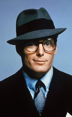 Christopher Reeve as Clark Kent