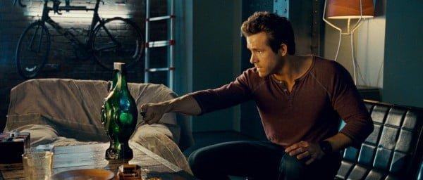 Ryan Reynolds as Hal Jordan in Green Lantern