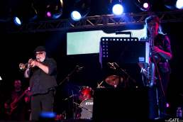 Randy Brecker and band