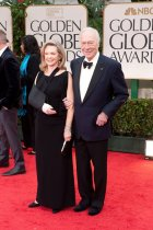 Elaine Taylor and Christopher Plummer