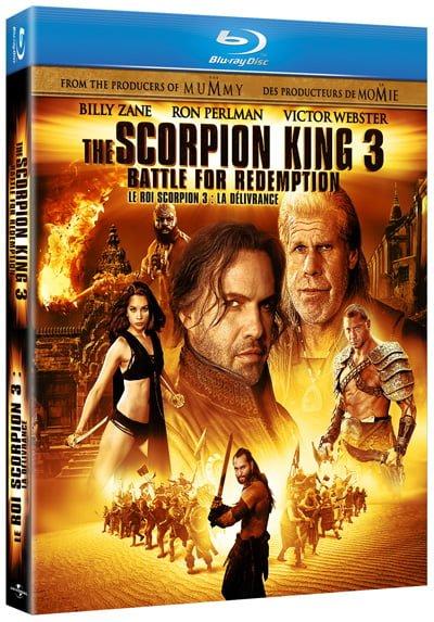 Scorpion King 3 on Blu-ray