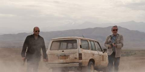 Scene from Killer Elite with Jason Statham and Robert De Niro