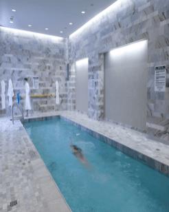 Hazelton Hotel pool