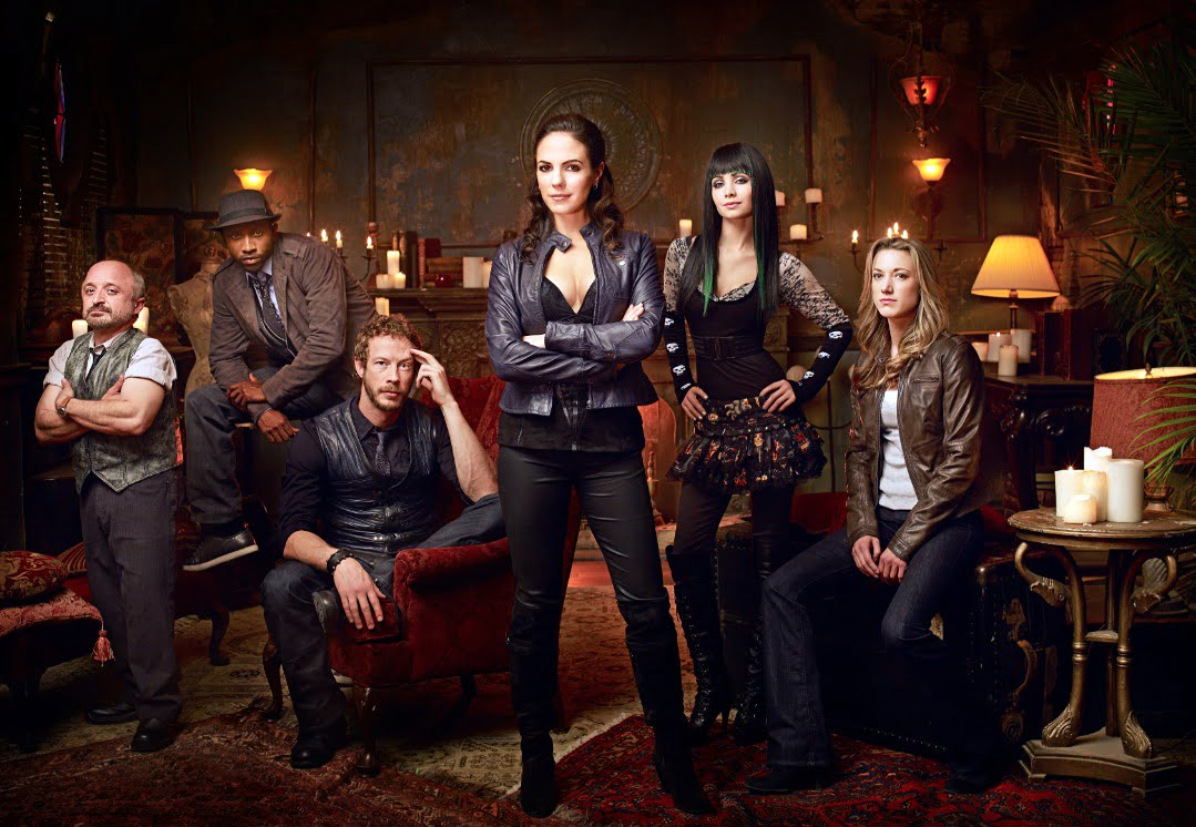 The cast of Lost Girl
