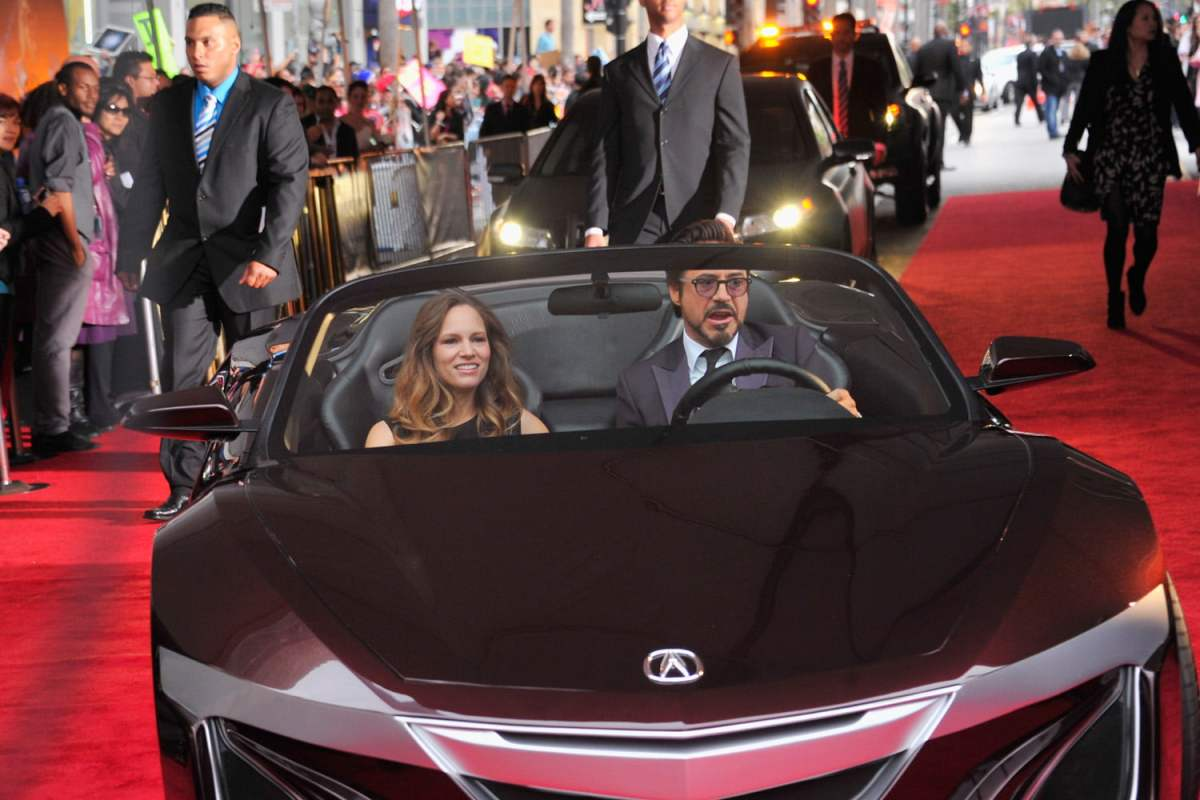 Susan Downey and Robert Downey Jr.