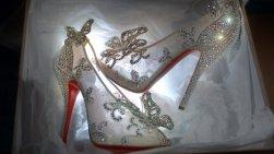 Christian Louboutin's Cinderella slipper
