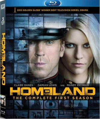 Homeland Season 1 on Blu-ray