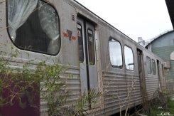 Subway train turned Defiance cafe