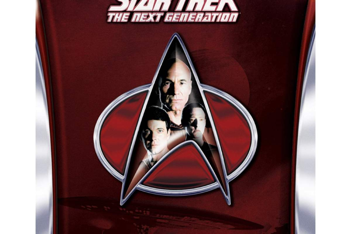 Star Trek The Next Generation season 1 on Blu-ray