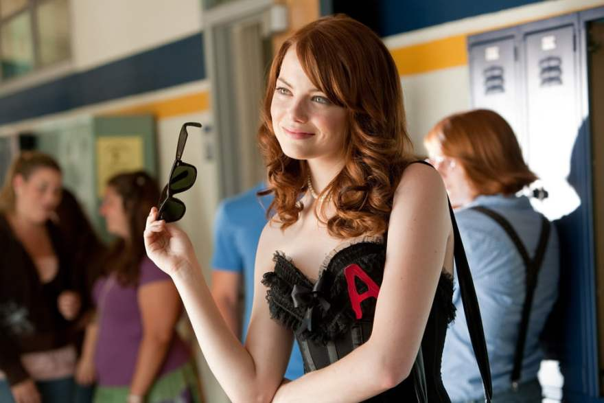 Emma Stone in Easy A