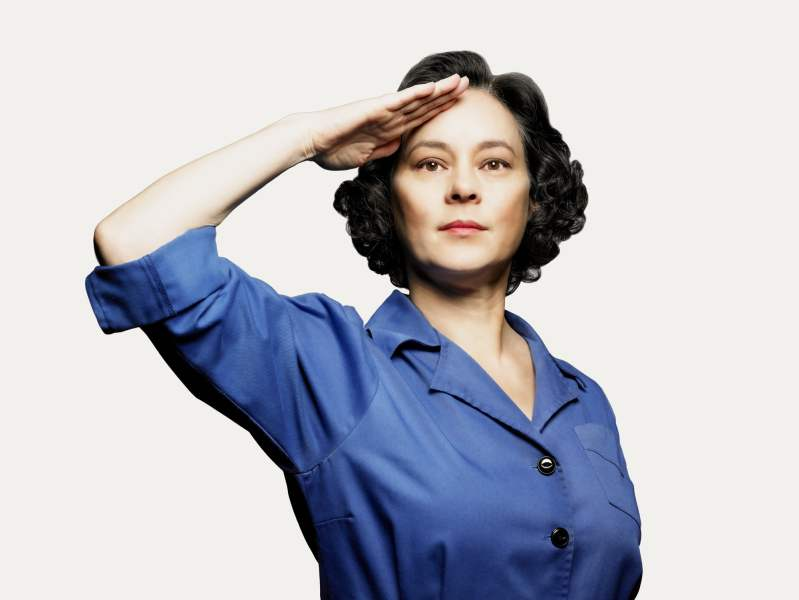 Meg Tilly, star of Bomb Girls