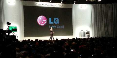 LG's CES Press Conference