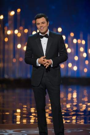 Host Seth MacFarlane