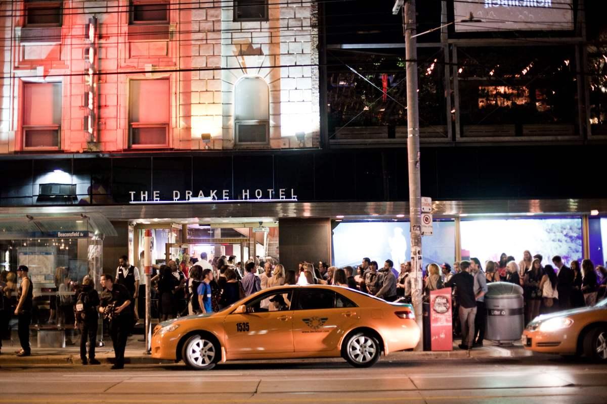 The Drake Hotel during TIFF 2012