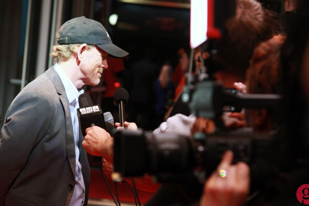 Ron Howard at TIFF