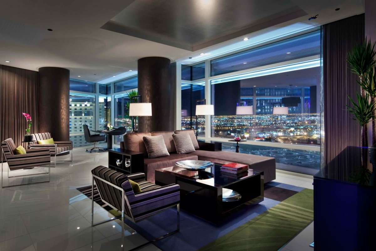ARIA One Bedroom Corner Sky Suite