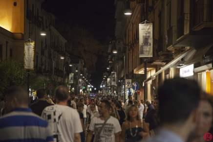 Night on Corso Italia