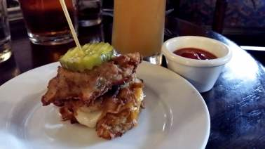 Latke Grilled Cheese at Fionn MacCool's