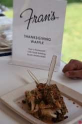Fran's Thanksgiving Waffle