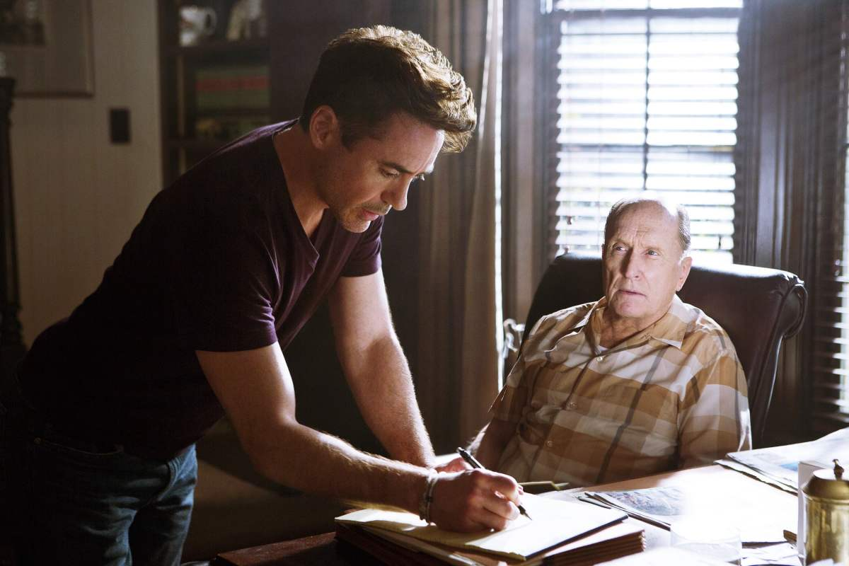 The Judge - Robert Downey Jr. and Robert Duvall