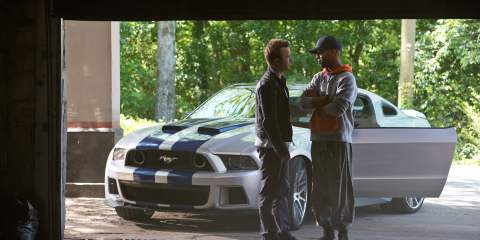 Aaron Paul and Scott Mescudi in Need For Speed
