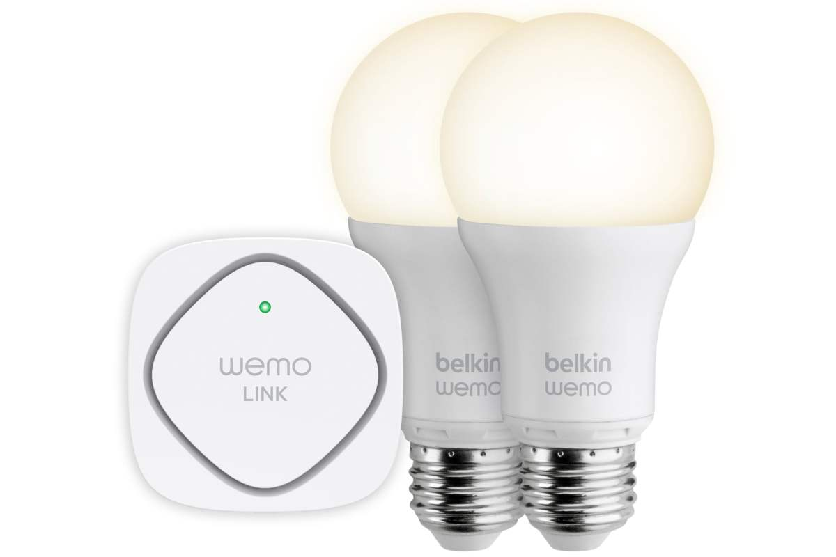 Belkin WeMo Smart LED Bulb Starter Kit
