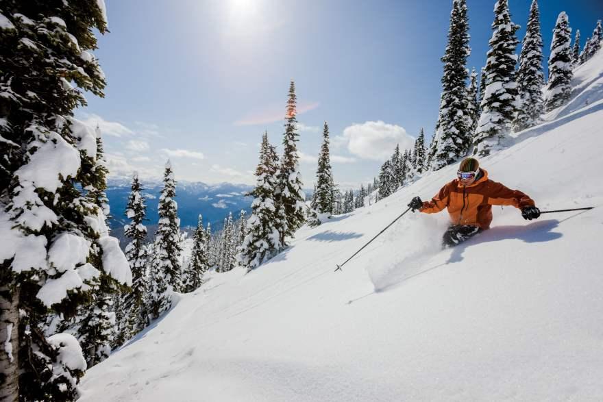 Monashee Mountains Heli-Skiing