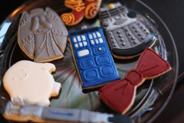 Doctor Who Cookies