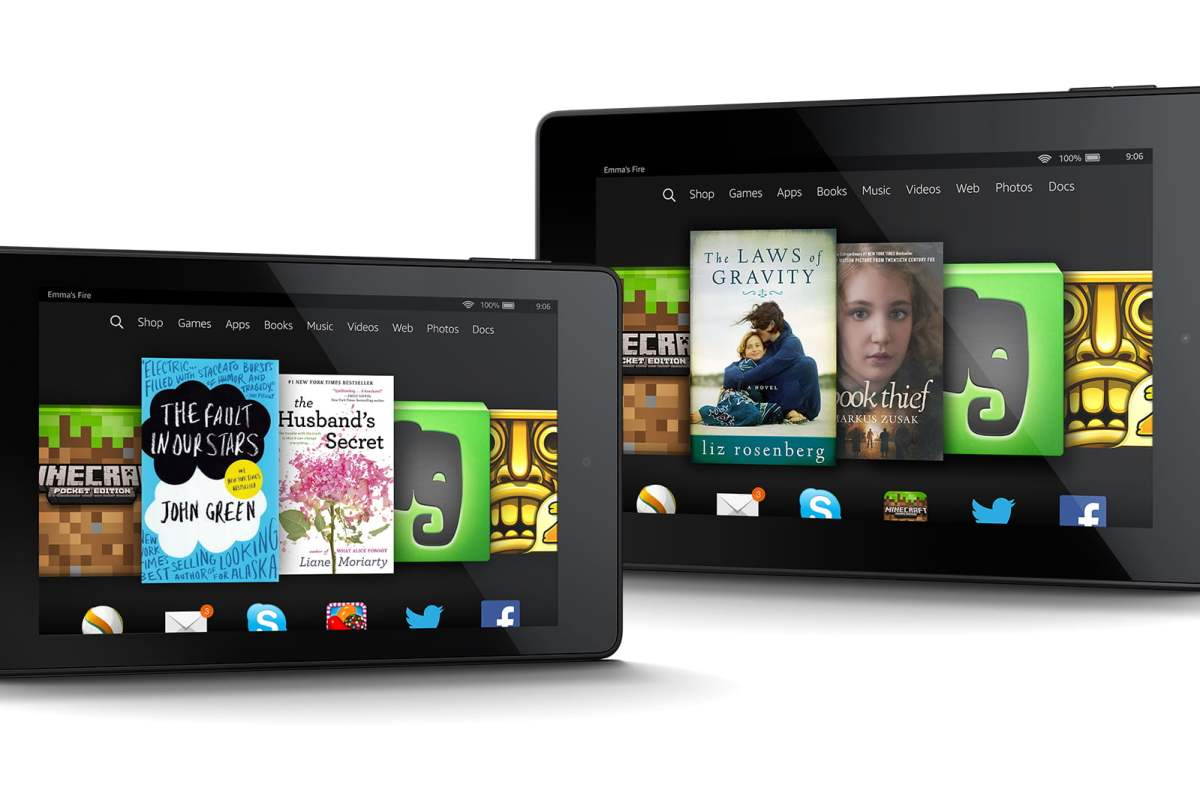 Kindle Fire HD 6 and Fire HD 7