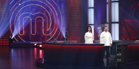 Line Pelletier and David Jorge on MasterChef Canada
