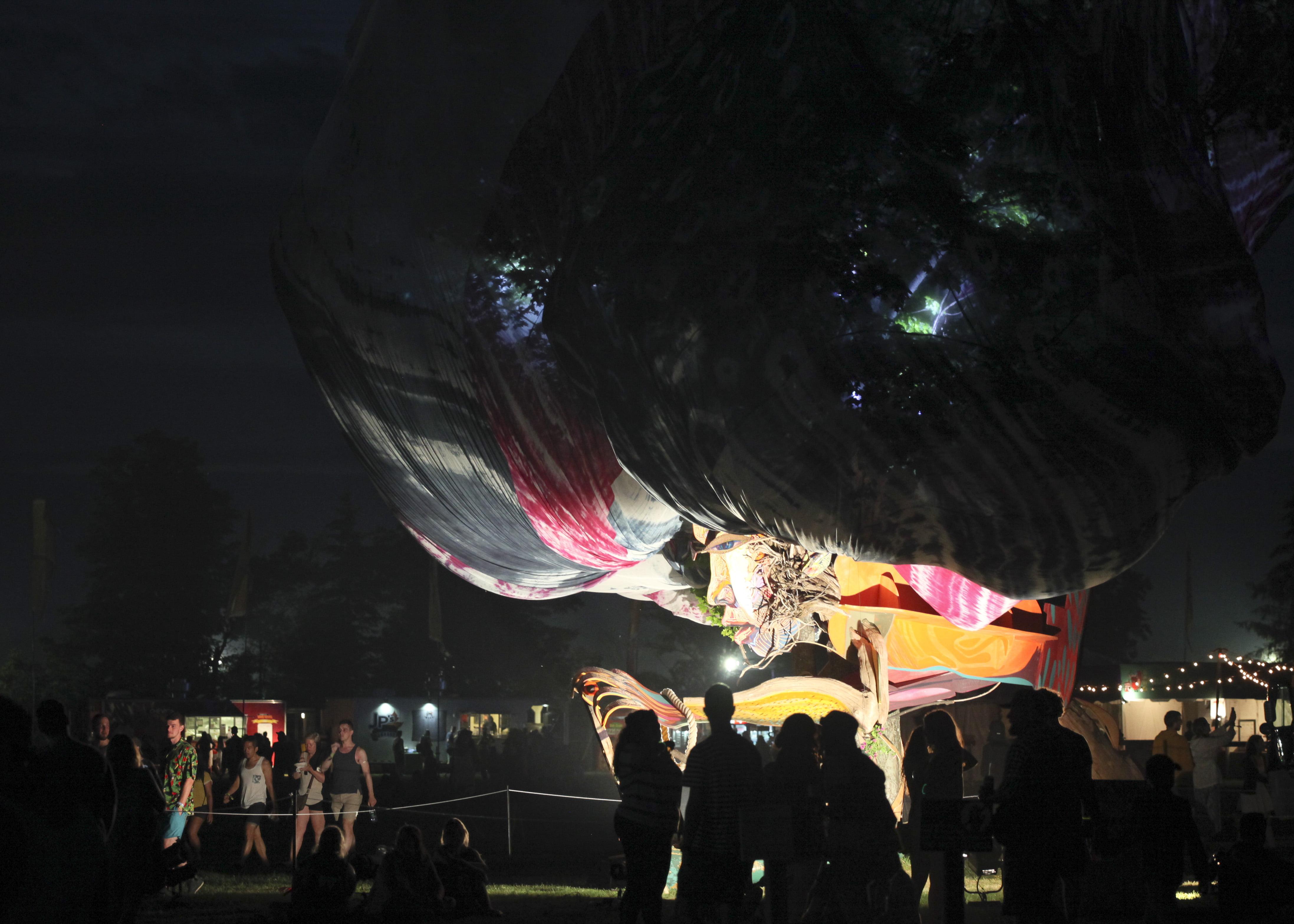 Art installation at WayHome