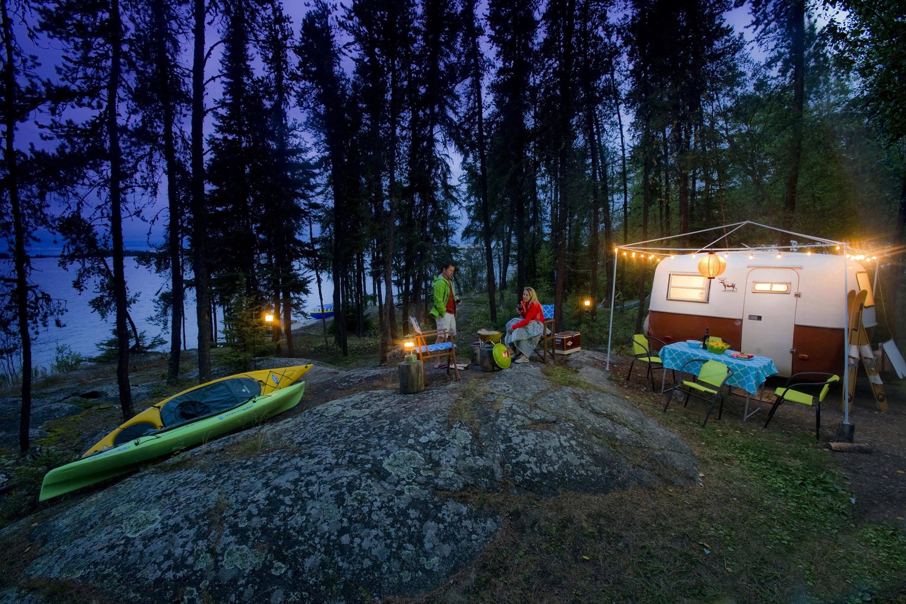 Lac La Ronge Provincial Park in Saskatchewan