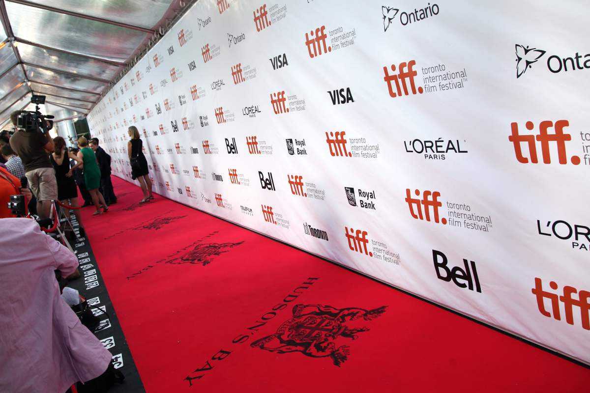 TIFF red carpet