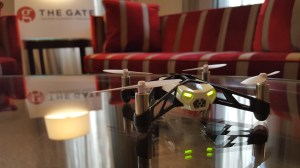 Parrot's Rolling Spider mini-drone