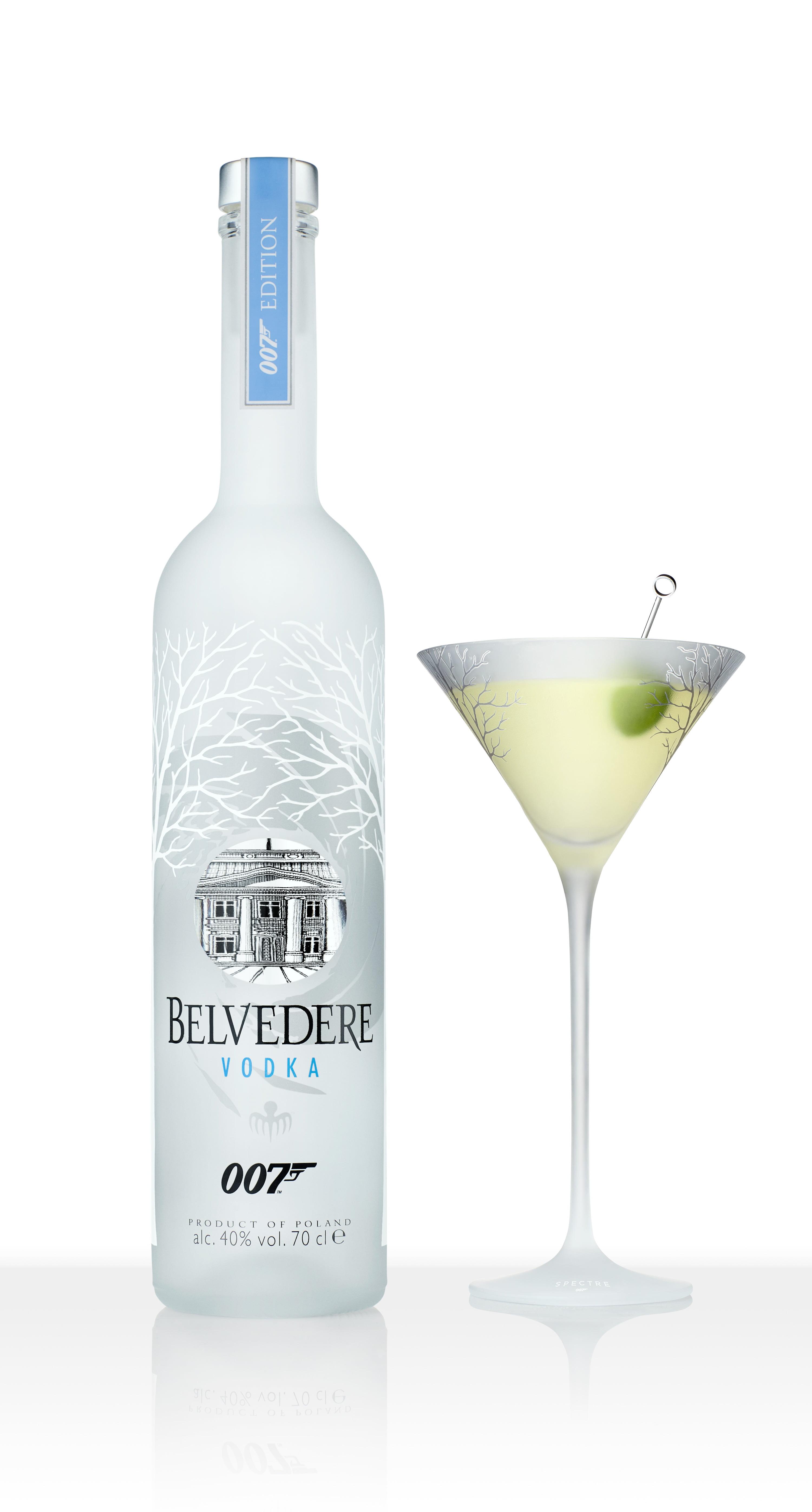 Belvedere 007 Spectre limited edition bottle